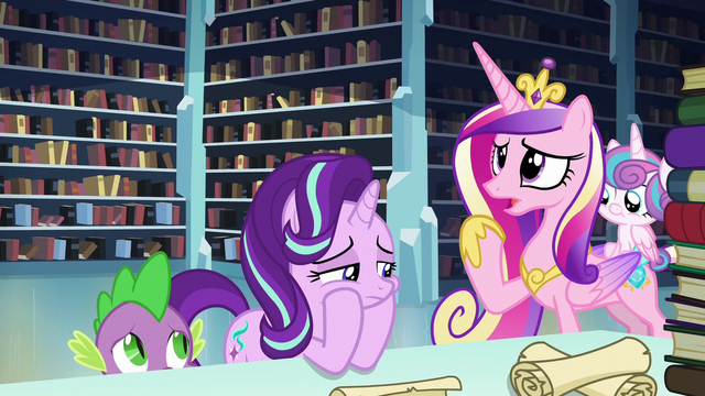 """File:Cadance """"I don't recognize the name"""" S6E2.png"""