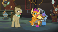 "Dr. Hooves ""hadn't thought that much"" S9E20"