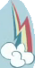 Fake Rainbow Dash cutie mark crop S8E13