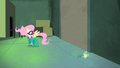 Fluttershy notices hurt firefly S4E06.png