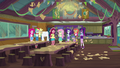 Gloriosa Daisy in the messy camp cafeteria EG4.png
