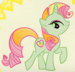 Golden Delicious unicorn ID
