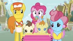 MLP FiM Croatian RTL - ♪Pinkie planira tulum♪ (Pinkie the Party Planner)