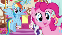 Pinkie Pie -who are you, stranger-- S4E12