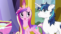 "Princess Cadance ""if she gets fussy"" S7E3"