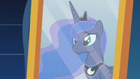 Princess Luna's reflection in a dream mirror S7E10