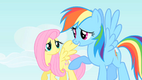 Rainbow Dash -He'll be pretty upset- S1E25