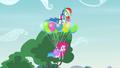 Rainbow and Pinkie levitating upward EG3.png