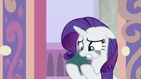"Rarity ""had to use my hooves"" S8E25"