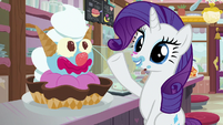 "Rarity ""how I'm going to finish this"" S7E6"