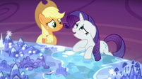 Rarity -been dying to go back for a visit- S5E16