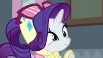 Rarity excited to be a teaching example S8E17