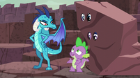 """Spike """"Of course, your Lordship!"""" S6E5"""
