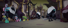 Storm Creatures torturing the ponies MLPTM