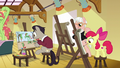 Apple Bloom and artists painting Tree Hugger S6E4.png