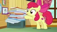 Apple Bloom picks up next client file S7E6