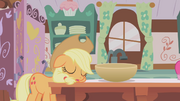 Applejack dormindo T01E04