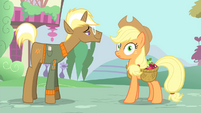 Applejack hears Rarity S4E13