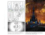 Art of Equestria page 105 - Sombra's castle concept