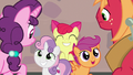 Crusaders happy for Big Mac and Sugar Belle S7E8.png