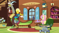 "Discord ""taking advantage of your hospitality"" S7E12"