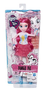 Equestria Girls Classic Style Pinkie Pie doll packaging
