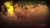 Flame Geyser Swamp S4 E17