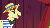 Flim suggests the Canterlot Two-Step S6E20