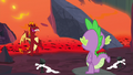 """Garble """"commanded us to be nice to ponies"""" S7E25.png"""