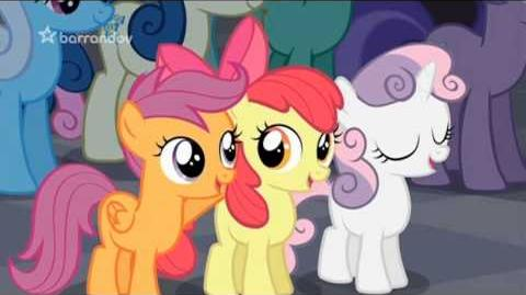 MLP Song The Fire of Friendship czech