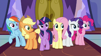 Mane Six hear Starlight Glimmer's voice S7E14