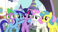 Minuette laugh S5E12