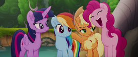 "Pinkie Pie ecstatic ""indeedy!"" MLPTM"