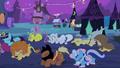 Ponyville kneeling to Luna S2E4.png