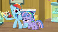 "Rainbow Dash ""I promised a friend"" S9E6"