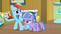 "Rainbow Dash ""I promised a friend"" S9E6"