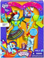 Rainbow Dash MLP EG RR (Muñeca y Pony Caja)
