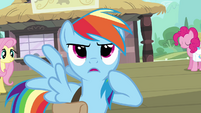 Rainbow Dash determined S03E12