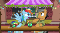 Rainbow Dash getting offended S6E13