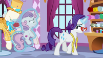 "Rarity ""when running a business"" S9E22"