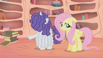 Rarity -there doesn't seem to be a thing wrong with her- S1E09
