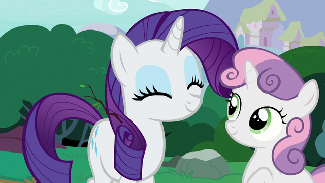 File:Rarity and Sweetie Belle happy again S7E6.png