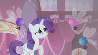 Rarity beset by parasprites S1E10