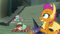 "Smolder ""what's it called again"" S8E2"