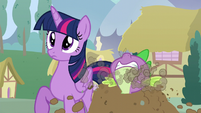 Spike pops out S5E22