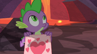 Spike sees something in the sky S9E9