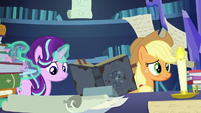 Starlight Glimmer looks at Star Swirl's journal S7E25