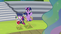 "Twilight Sparkle ""a bit more energy"" S8E7"