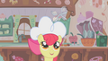 Apple Bloom gazing at spinning teaspoon of vanilla S1E12.png