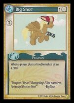 Big Shot demo card MLP CCG